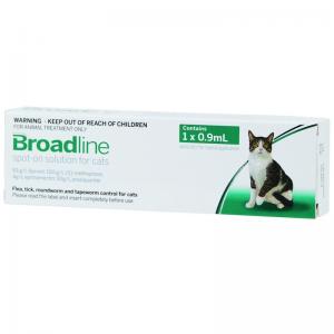 Broadline Spot-On Solution for Cats 2.5-7.5kg - 3 Stone Vets