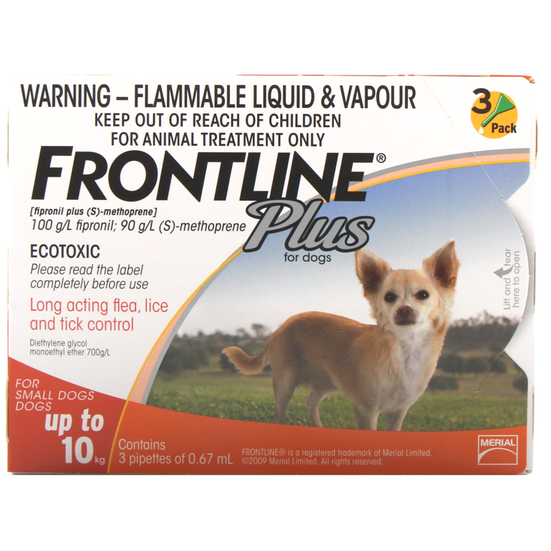 Frontline Cat And Dog Flea Treatment