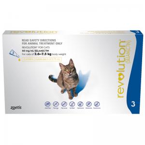 Revolution Cat 3 pack (2.5-7.5kg) - 3 Stone Vets